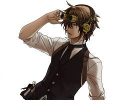 anime steampunk